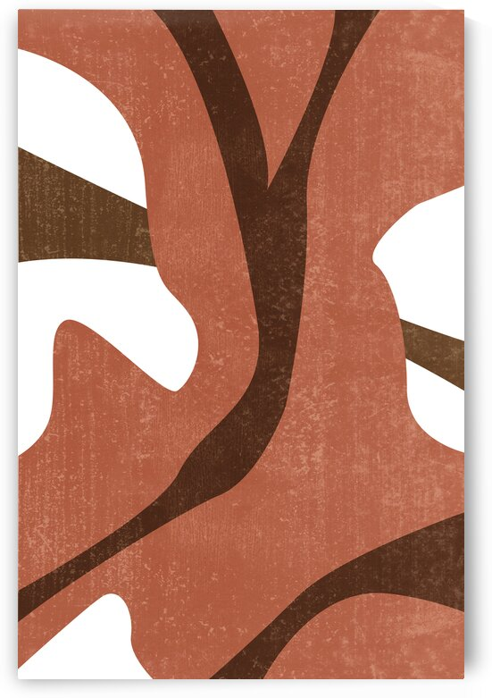 To the Roots - Abstract Terracotta Art by Studio Grafiikka