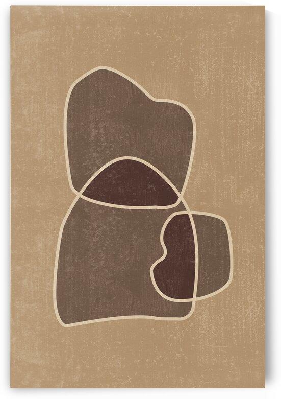 Mid Century Modern - Abstract Shapes 06 by Studio Grafiikka