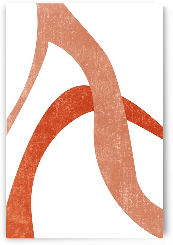 Entangled 03 - Minimal Abstract Terracotta Form by Studio Grafiikka