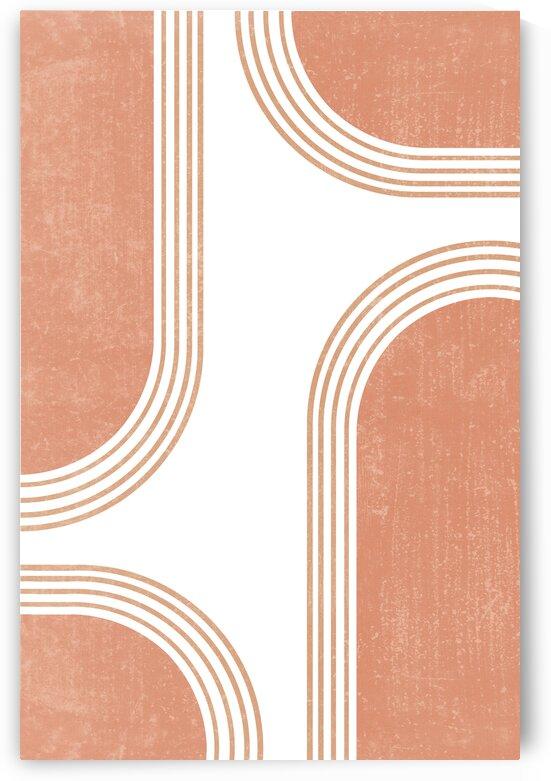 Transitions 02 - Mid Century Modern - Geometric Abstract by Studio Grafiikka