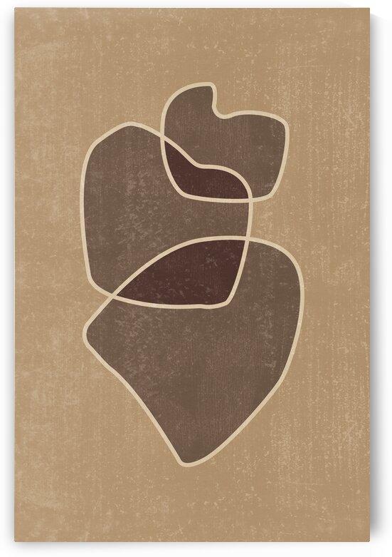 Mid Century Modern - Abstract Shapes 04 by Studio Grafiikka