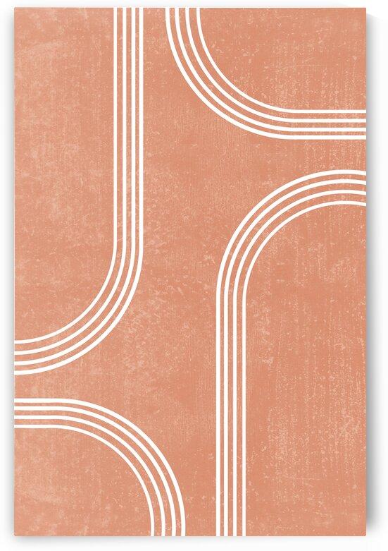 Transitions 01 - Mid Century Modern - Geometric Abstract by Studio Grafiikka
