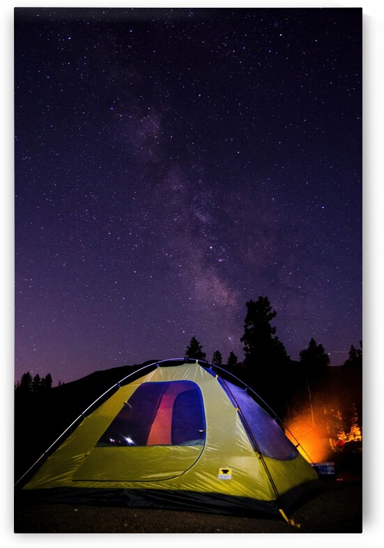 Tent in the milky way by 5280Images