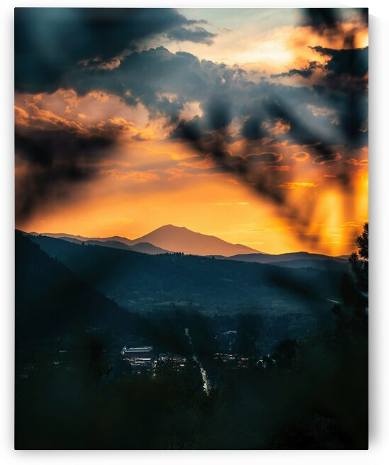 Sunset  over Telluride by 5280Images