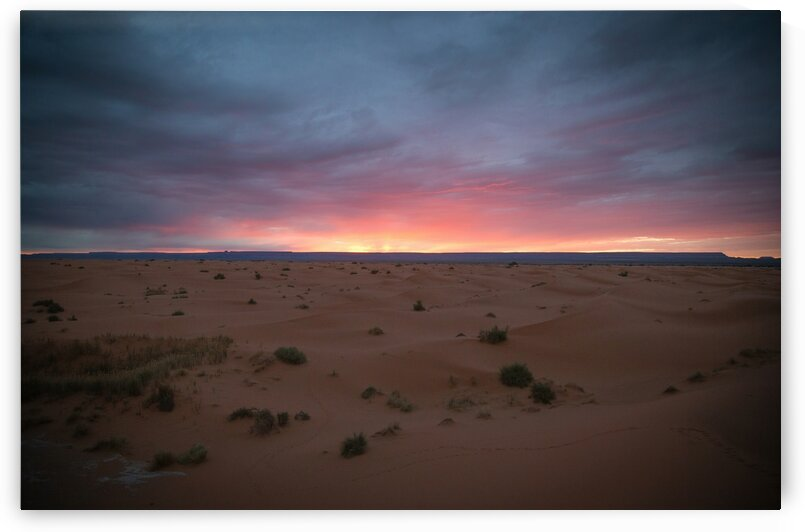Sunset on the dunes by 5280Images