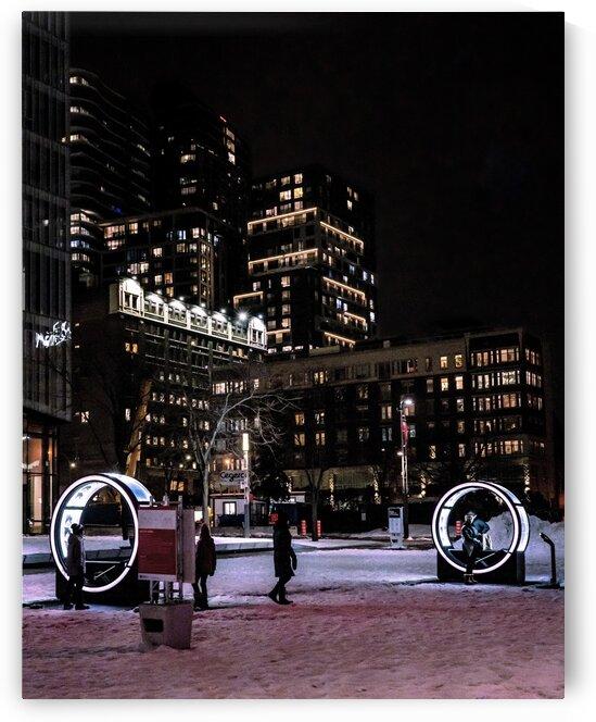 Place des Arts - Montreal  by Saïd Khalil
