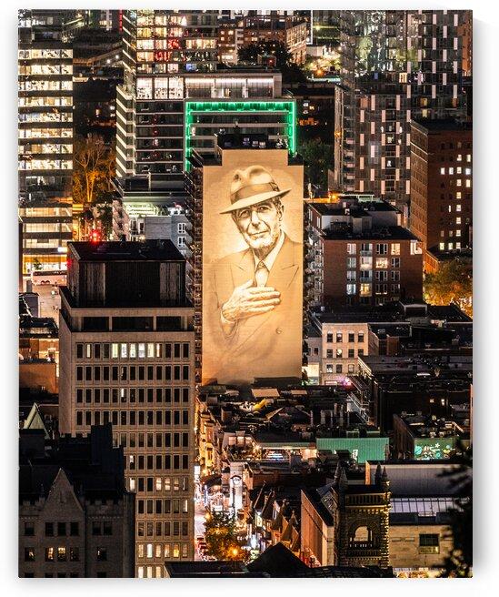 Tower of song  - Leonard Cohen by Saïd Khalil