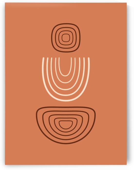 Meditations 01 - Contemporary  Minimal Abstract by Studio Grafiikka
