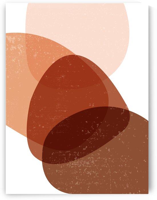 Terracotta 04 - Contemporary  Minimal Abstract by Studio Grafiikka