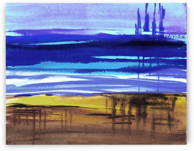 Beach Art Ocean Seascape Sea View Painting For Home Interior Decor VIII by Irina Sztukowski