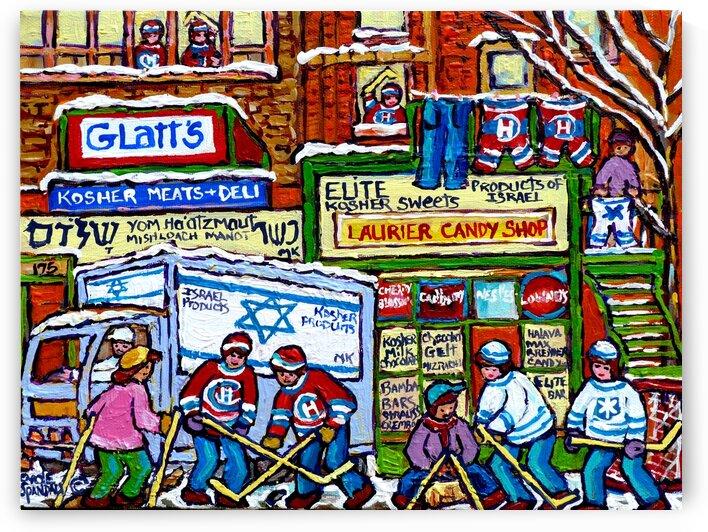 THE JEWISH STREET KOSHER SHOPS IN MONTREAL by Carole  Spandau
