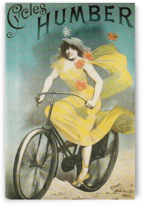 Cycles Humber by VINTAGE POSTER