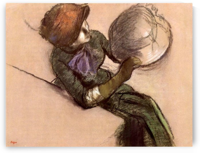 The milliner 2 by Degas by Degas