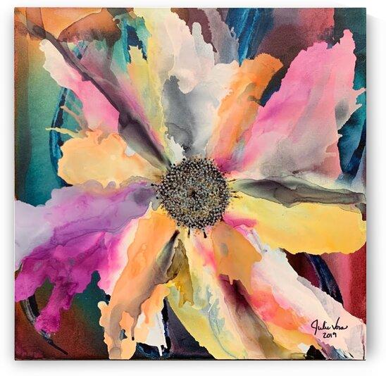 Shawna s flower by Julie Voss