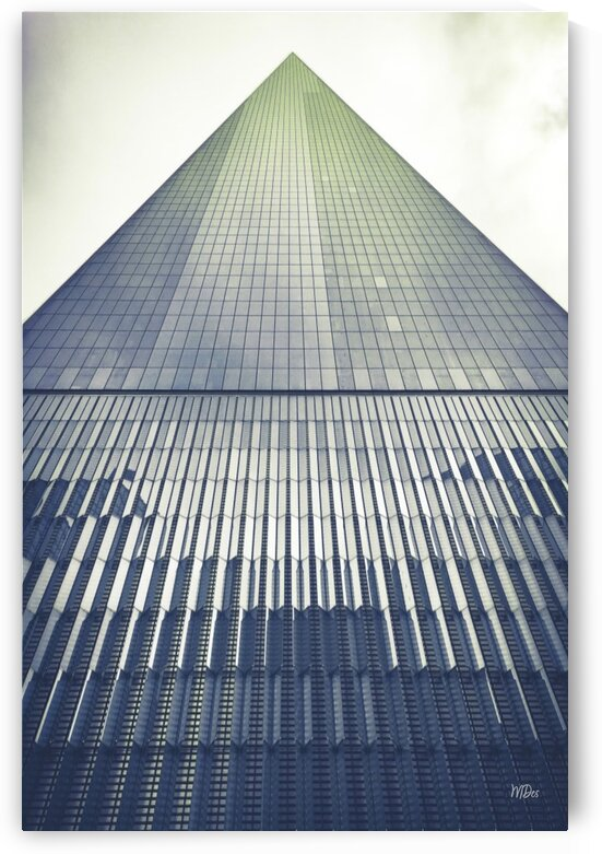 New York City Perspective Photographic  Art Print Freedom Tower By:Zo® by Maria Desnoyers Art Print Collection By:Zo