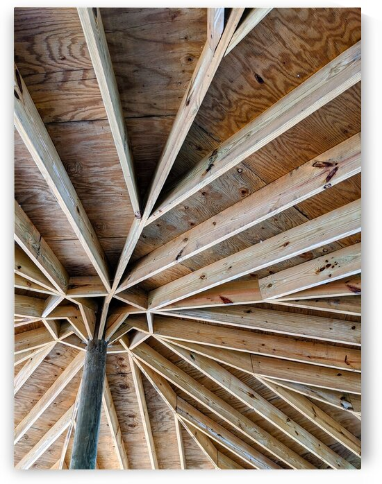 Design of a wooden structure by Michael Geyer