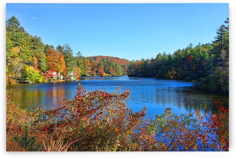 A North Carolina Autumn by HH Photography of Florida