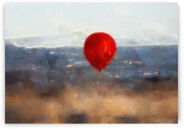 Red Balloon Germany by Steven Sandner