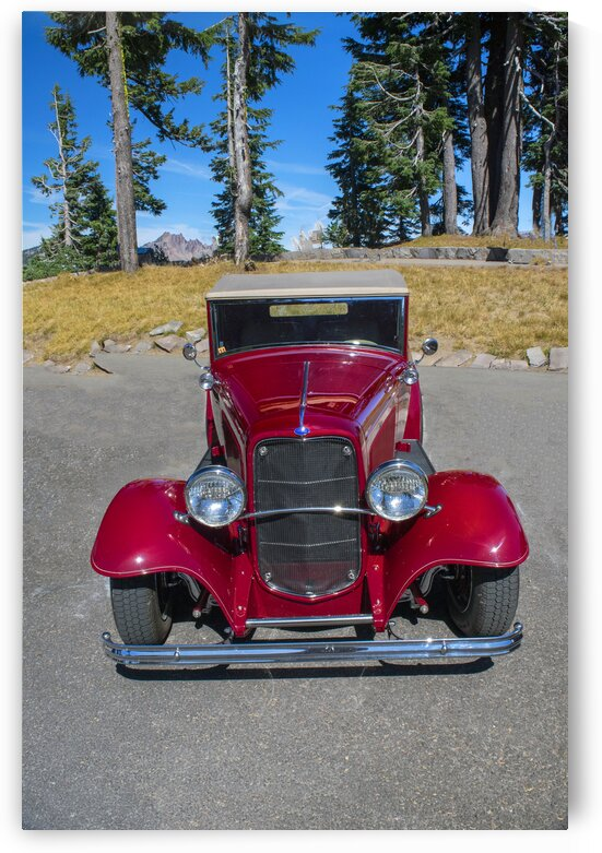 Red 1932 Ford by Frank Wilson