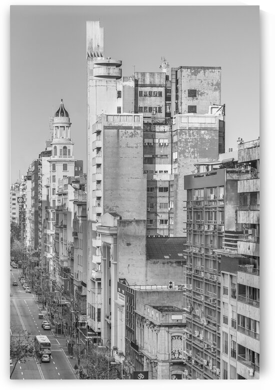 Aerial View Montevideo Uruguay by Daniel Ferreia Leites Ciccarino
