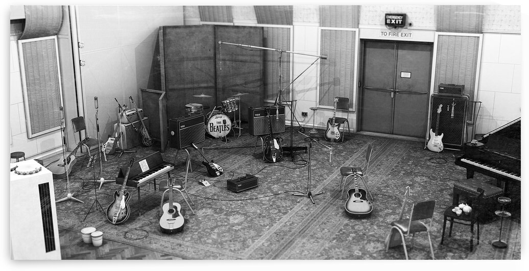 Rubber Soul sessions 1965 by Studio 3 Art