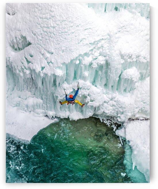 Ice Climber by Jane Dobbs
