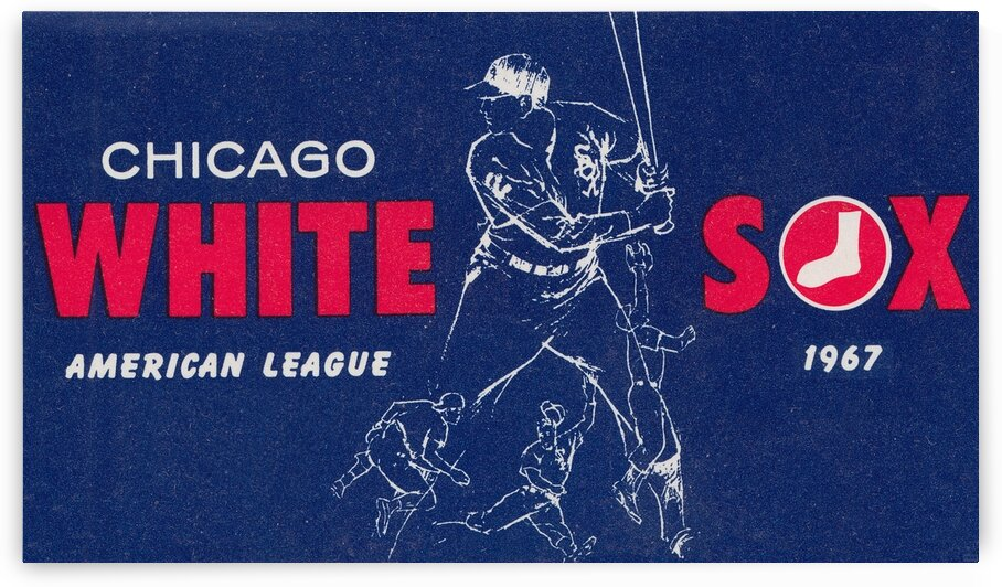 1967 Chicago White Sox Art by Row One Brand