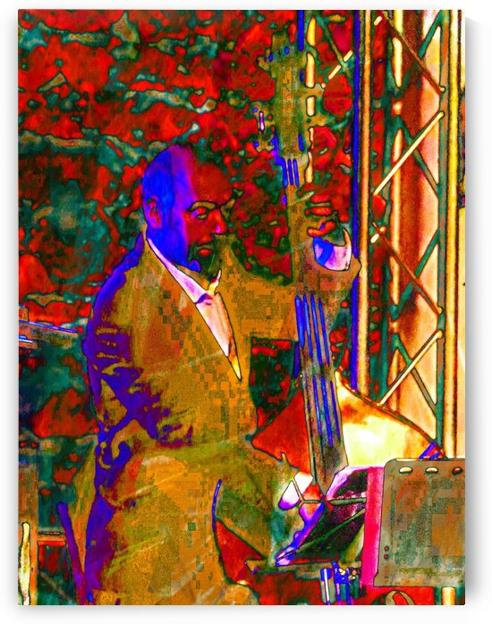 Double Bass Player by Dorothy Berry-Lound