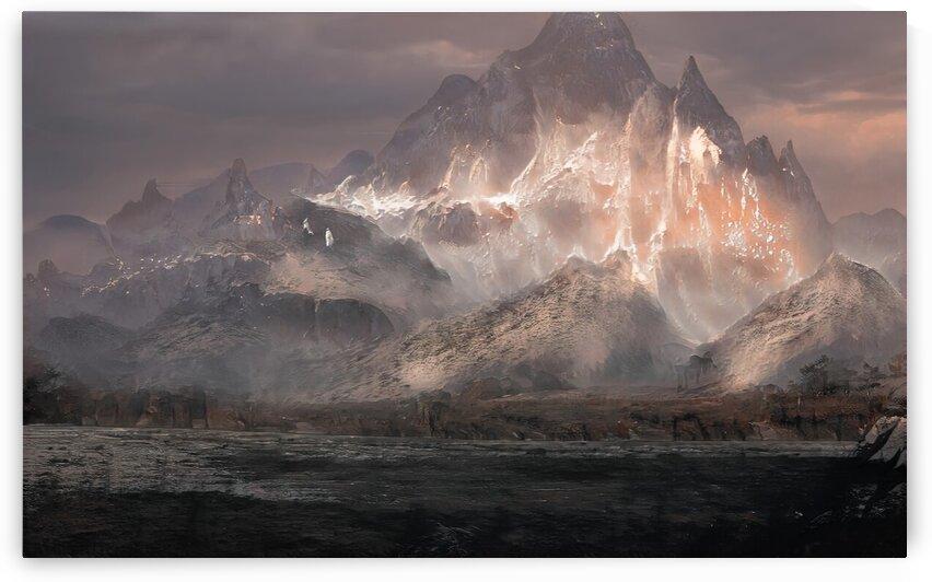 Snowy mountain by Michal Dunaj