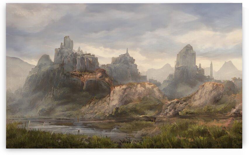 Ancient ruins by Michal Dunaj