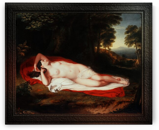 Ariadne by Asher Brown Durand Classical Fine Art Old Masters Reproduction by xzendor7