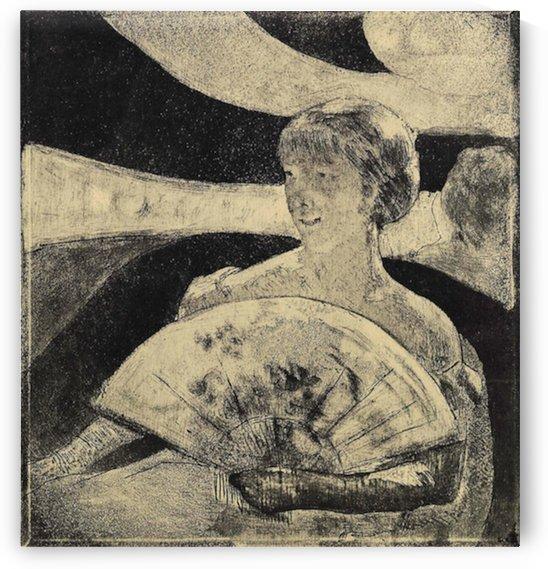 The Opera Loge by Cassatt by Cassatt