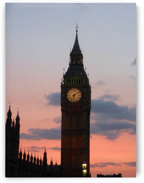 Big Ben Sunset by Ashley N Boggs