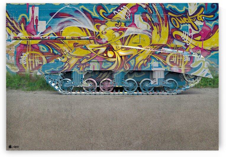 War Graffiti by Shahrokh heidari