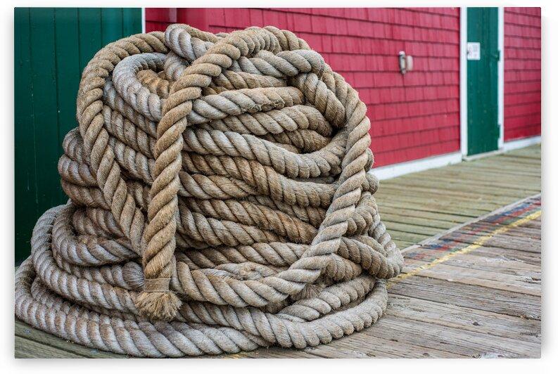 Mooring lines rope by Glen Grant