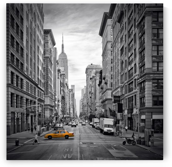 NEW YORK CITY 5th Avenue by Melanie Viola