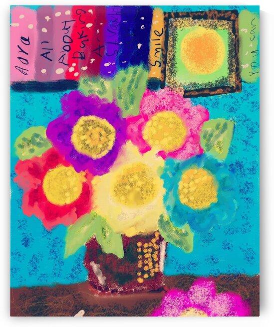 Floral Weekdays by Isra Aara Ibrahim Shafeeu