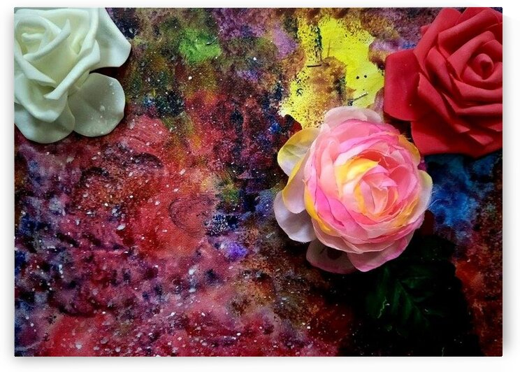Roses for my grandma by Isra Aara Ibrahim Shafeeu
