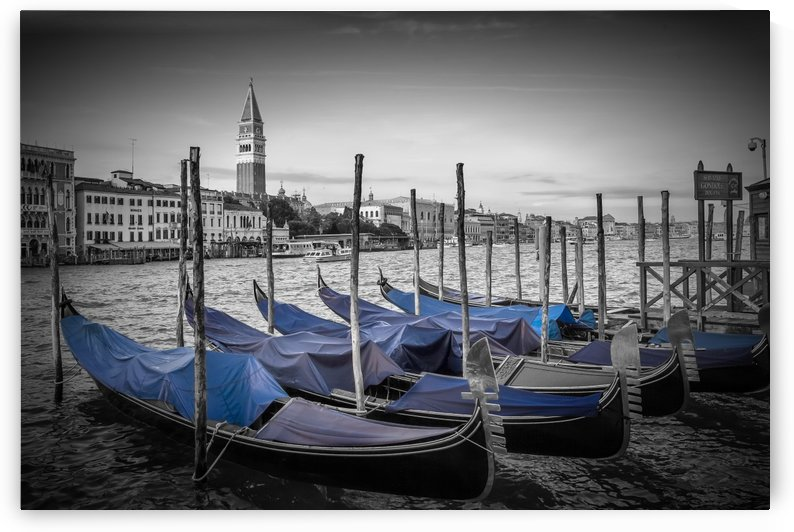 VENICE Grand Canal and St Mark's Campanile by Melanie Viola