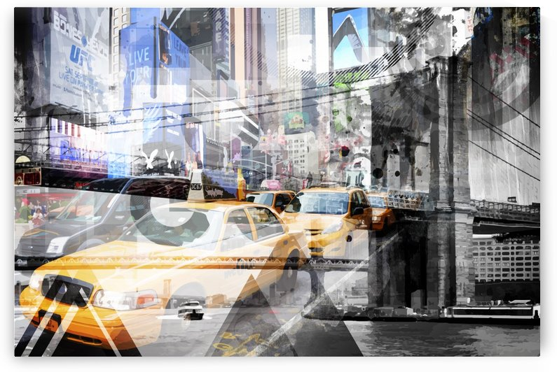 New York City Geometric Mix No. 9 by Melanie Viola