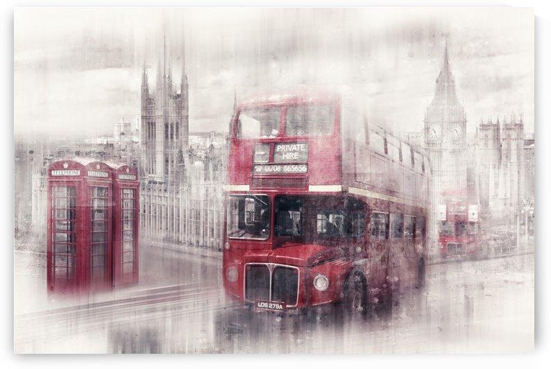 City-Art LONDON Westminster Collage II by Melanie Viola