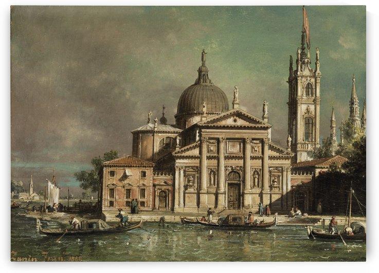 San Giorgio Maggiore in Venedig by Francesco Zanin