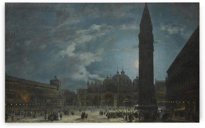 The Piazza San Marco, Venice, in the early hours by Francesco Zanin