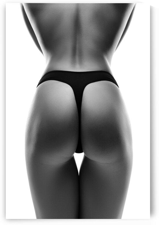 Woman Sensual buttocks 3 by Johan Swanepoel