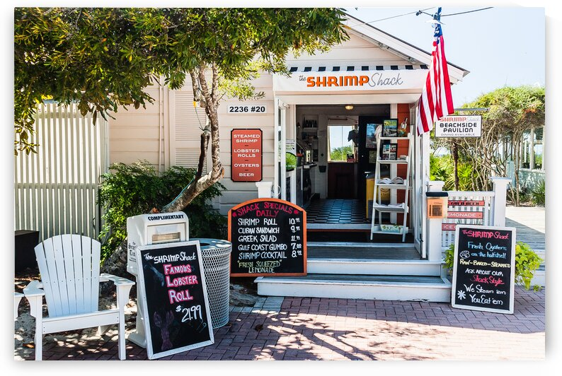 The Shrimp Shack by bj clayden photography