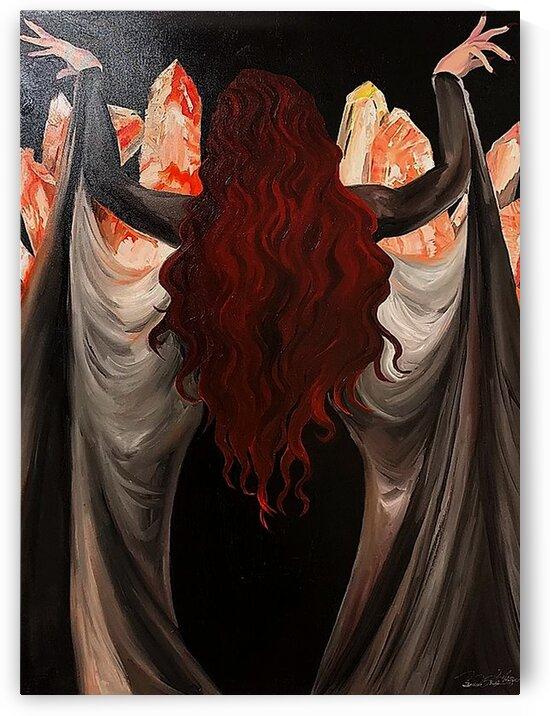 emperatriz print by Desiree Ruiz