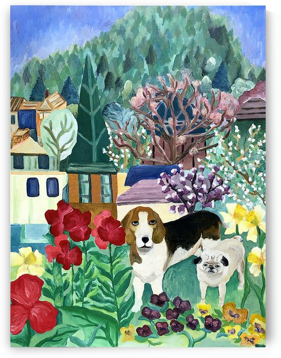 Backyard Dogs by Deborah Alastra