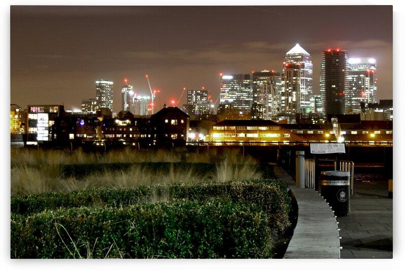 City skyline by Bentivoglio Photography