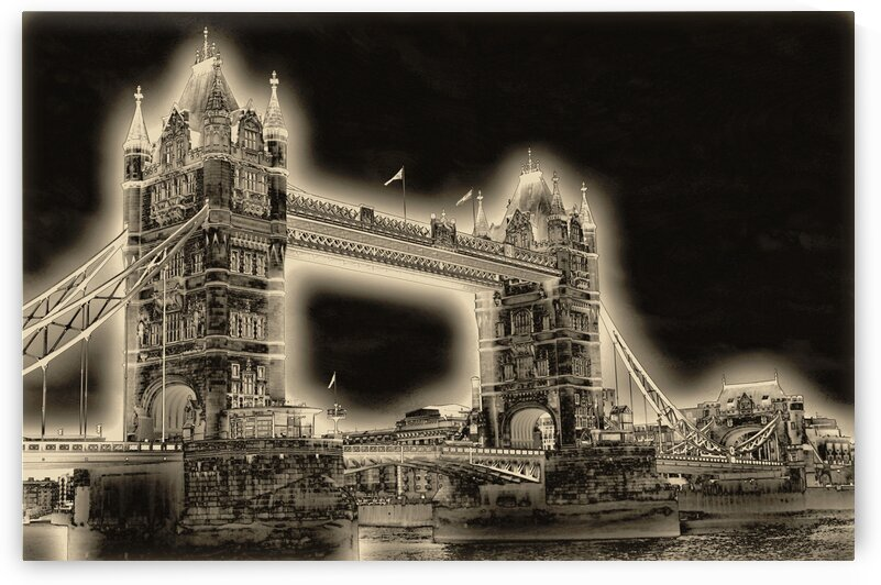 Tower Bridge - London Bridge by Bentivoglio Photography