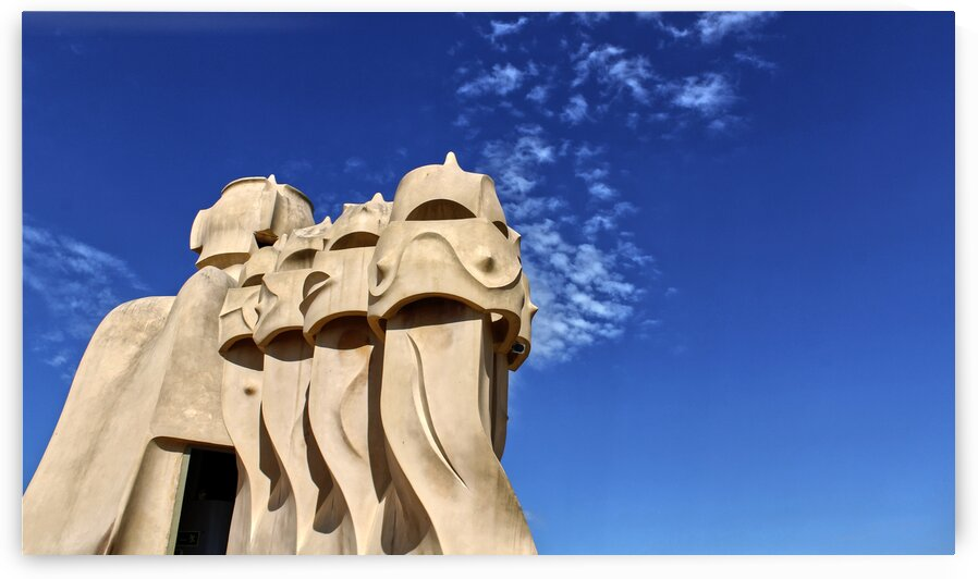 Abstract art - Barcelona by Bentivoglio Photography
